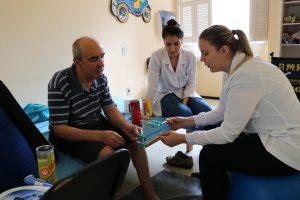 Atenção fisioterapêutica na comunidade